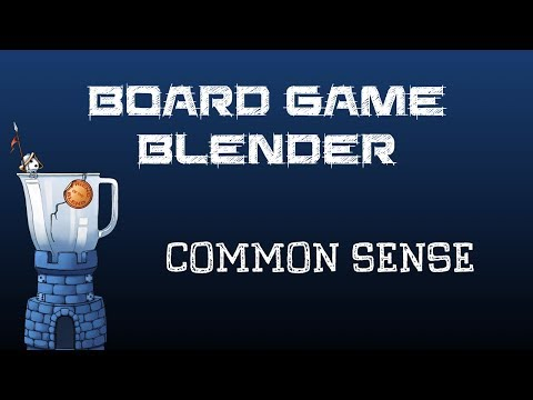 Board Game Blender - Common Sense