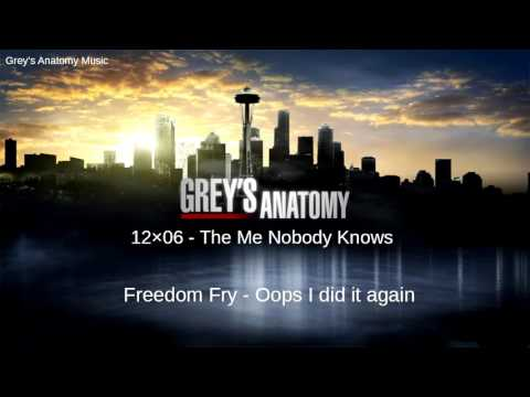 Grey's Anatomy Season 12 Episode 6: Freedom Fry - Oops I Did It Again
