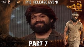 KGF (Telugu) Pre Release Event Part 7 | Yash | Srinidhi Shetty | Prashanth Neel