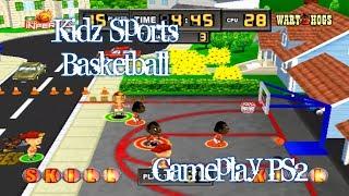 Kidz Sports Basketball - Gameplay - English - PS2