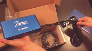 Strymon Zuma power supply unboxing!