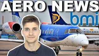 FlyBMI INSOLVENT - KEINE Flüge mehr in ROSTOCK! AeroNews