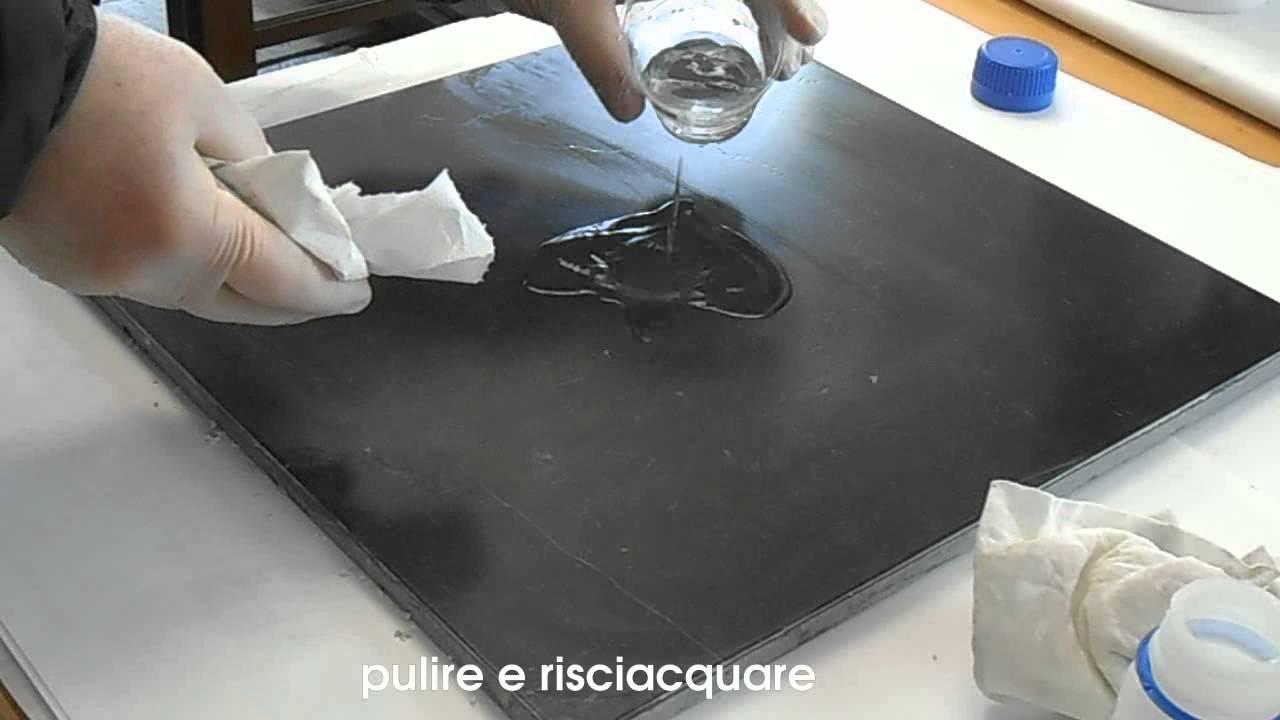 Come lucidare il marmo diventato opaco per il tempo e per - Pulire fughe piastrelle da olio ...