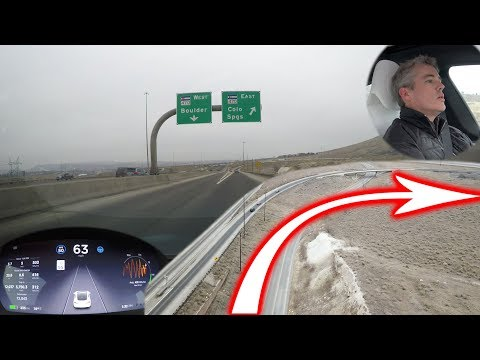 Can Tesla Autopilot Handle a Highway Interchange?