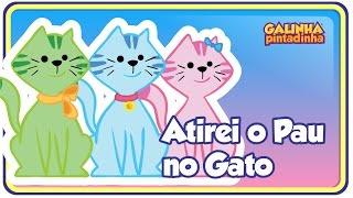 Atirei o pau no gato - DVD Galinha Pintadinha 2 - Para Crianças e Bebês