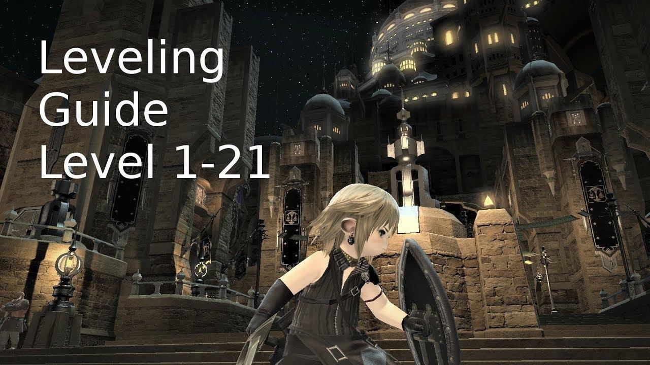 Ffxiv Alt Leveling ffxiv - leveling guide - level 01 - 21