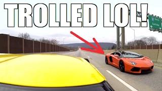 700HP Z06 TROLLS an Unsuspecting Lamborghini!