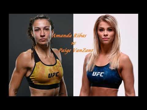 Amanda Ribas vs Paige VanZant fight highlights