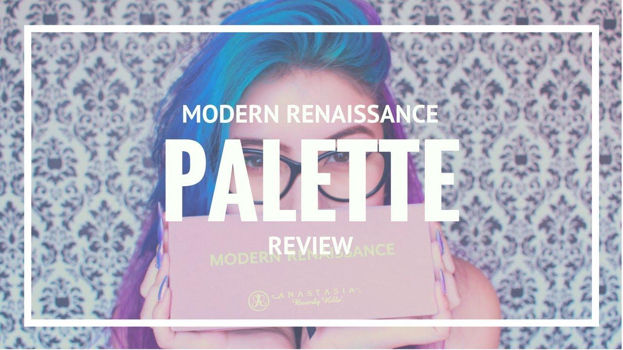 ABH Modern Renaissance Palette Review & Swatches   Beauty