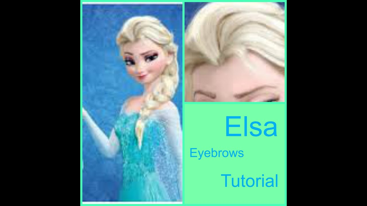 Cartoon Eyebrows Tutorial Youtube