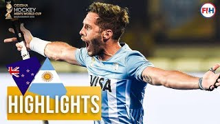 New Zealand v Argentina | Odisha Men's Hockey World Cup Bhubaneswar 2018 | HIGHLIGHTS