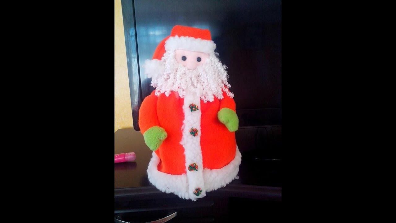 Cubre Rollo Papa Noel  YouTube