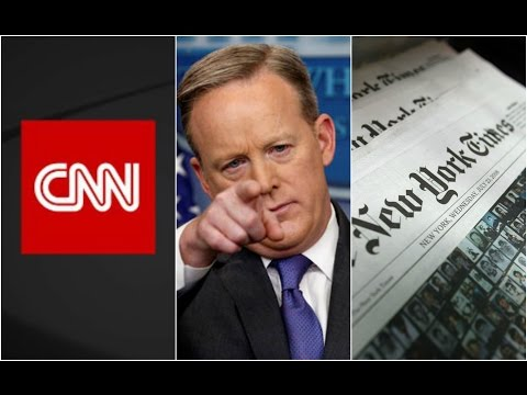 IT HAPPENED: New York Times and CNN Barred from Attending Press Briefing!!!