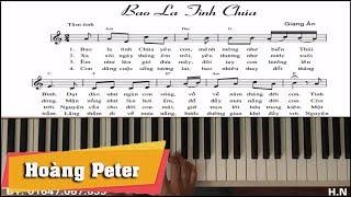 Hướng dẫn đệm Piano: Bao La Tình Chúa - Hoàng Peter