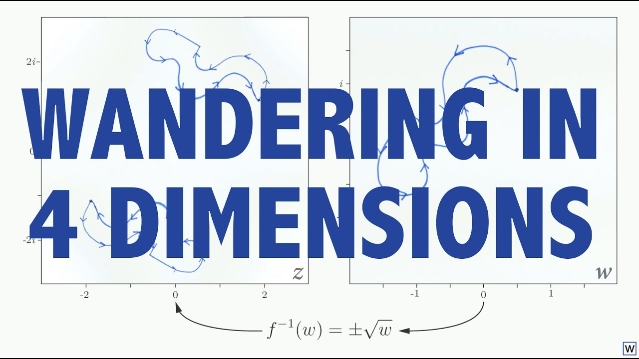 Imaginary Numbers Are Real [Part 11: Wandering in 4 Dimensions]
