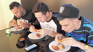 The ATOMIC WING CHALLENGE 2 [@SpacejamGardenz @DerekDeso]