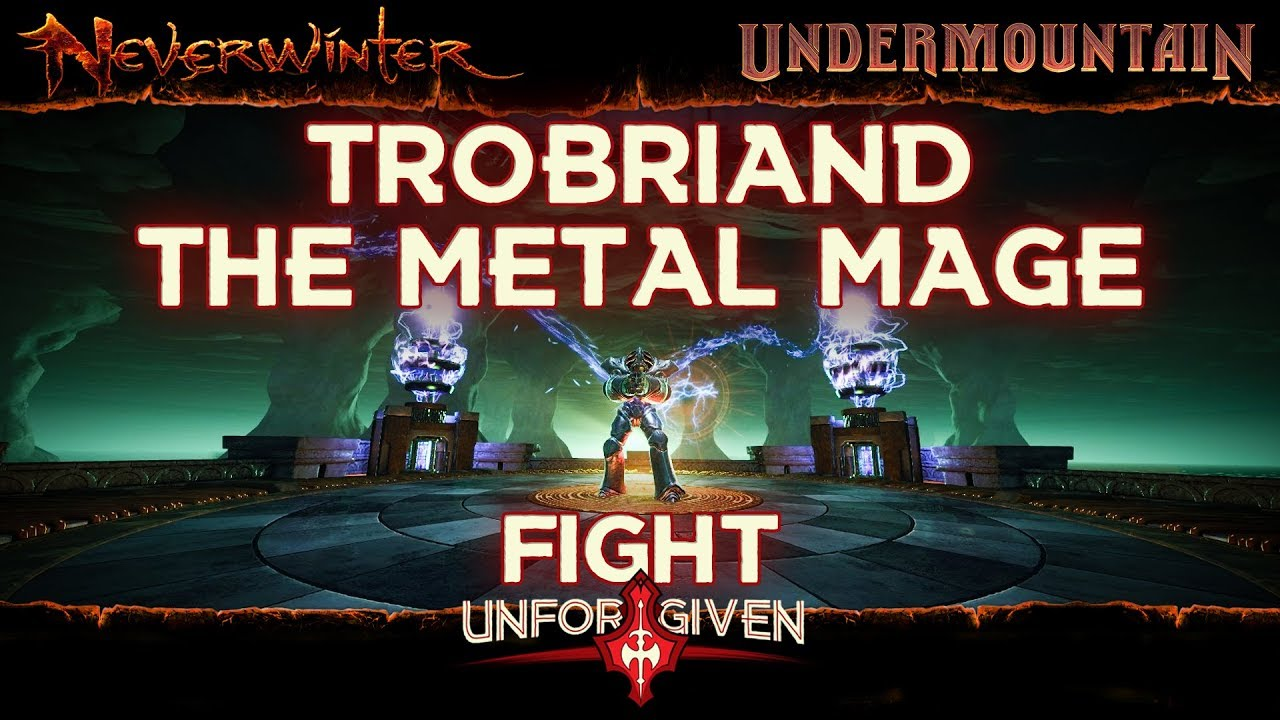 Neverwinter Mod 16 - Lair Of The Mad Mage Trobiant Boss Fight Unforgiven Barbarian (1080p)