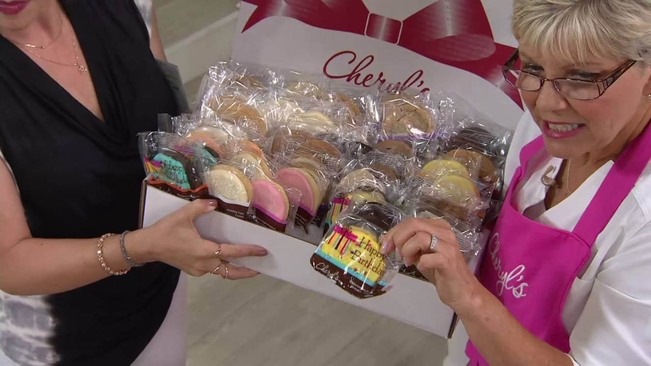 Cheryls 24 or 48 piece taste of cheryls cookie assortment on qvc cheryls 24 or 48 piece taste of cheryls cookie assortment on qvc negle Choice Image