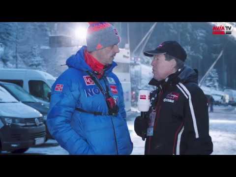Norwegens Trainer Alexander Stöckl in Willingen
