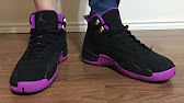c206c87d8614d6 Authentic Air Jordan 12 GS Hyper Violet from aksneaker cn - YouTube