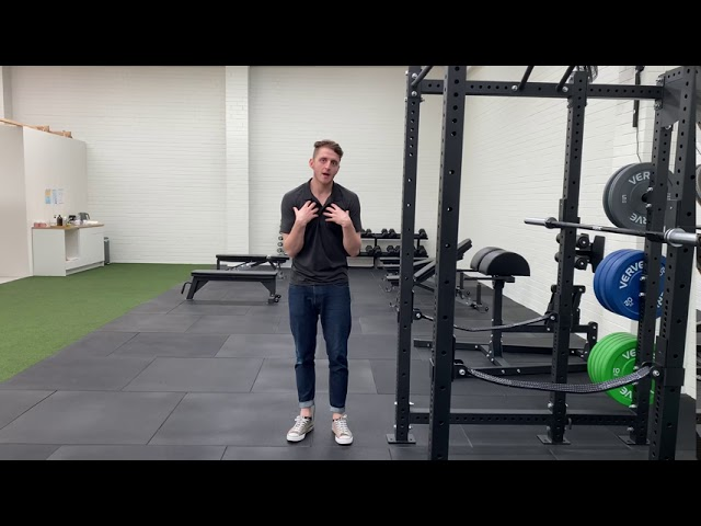 Unilateral Pec Stretch