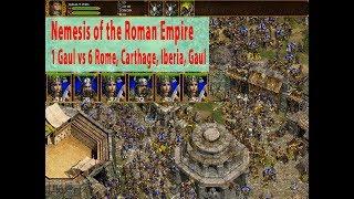 Nemesis of the Roman Empire - 1 vs 6 Very Hard AI - Game 2