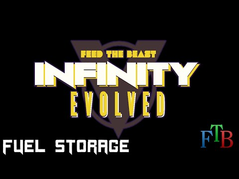 Feed the Beast - Infinity Evolved - 11 - Fuel Storage