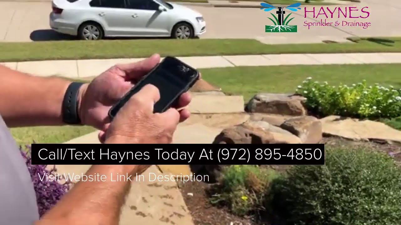 Download McKinney Sprinkler Repair Company Discusses WiFi Smart Phone App For Irrigation Control