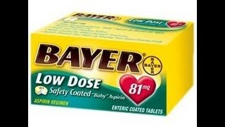 Baby aspirin- what