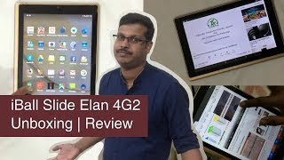 iBall Slide Elan 4G2 -Android tablet | Unboxing and Review
