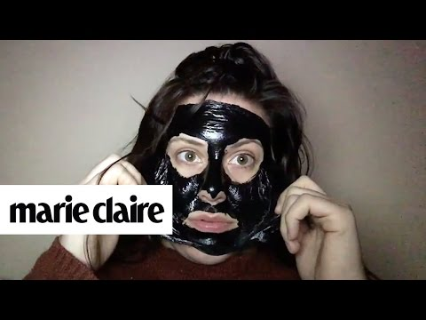 These Charcoal Mask Fails Are So Funny They Hurt | Marie Claire