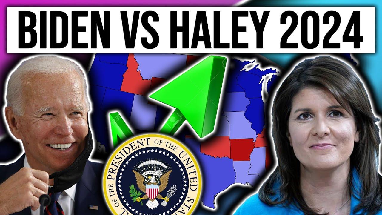 Nikki Haley vs Joe Biden | 2024 Election Map Projection | 2024 Election Analysis