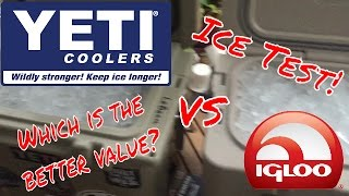 YETI Roadie vs IGLOO Sportsman Is it a Yeti Killer? 60% off the cost of a YETI