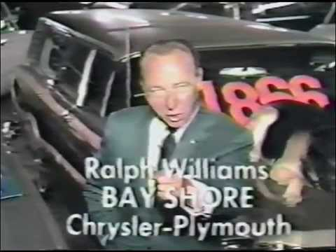 """1960's TV Used Car Ad Outtakes """"Ralph Williams"""" Bloopers"""