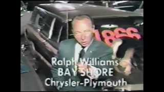 "1960's TV Used Car Ad Outtakes ""Ralph Williams"" Bloopers"