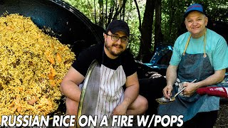 Russian Rice Recipe with Pops