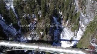 Aerial 4K Graubünden Bridges and Valleys DJI Inspire pro / Phantom 4 pro