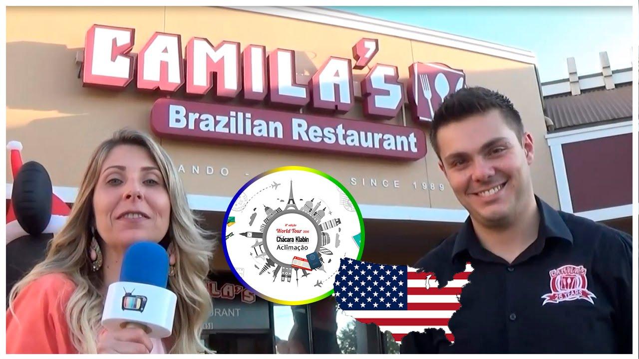 Entrevista Camila S Brazilian Restaurant Orlando World Tour 2016
