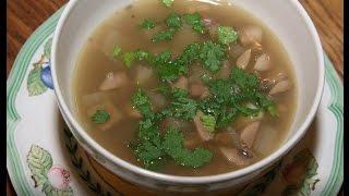 Юлия Высоцкая — Суп из чечевицы с грибами