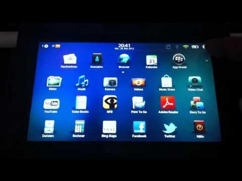 Anleitung: Android Apps auf dem BlackBerry PlayBook installieren
