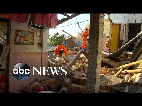 Magnitude 6.9 earthquake in Indonesia kills almost 100 | ABC News