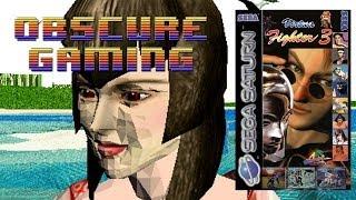 Obscure Gaming - Virtua Fighter 3 Saturn