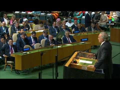 UN Speeches: Brazilian President Michel Temer