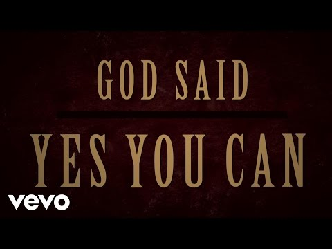 Marvin Sapp - Yes You Can (Lyric Video)