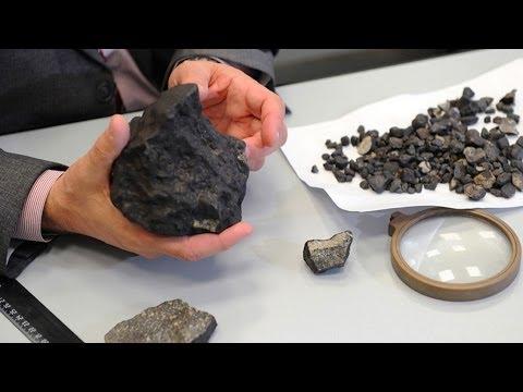 В России торгуют осколками метеоритов