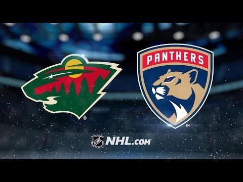 Minnesota Wild Vs. Florida Panthers   NHL Game Recap   March 10, 2017