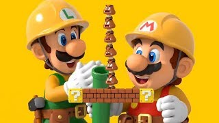 [슈퍼 마리오 메이커2] 1화 무한으로 즐겨요 행복한 마리오😊 (Super Mario Maker 2)