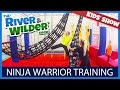 NINJA WARRIOR TRAINING FOR KIDS  | KIDS TV
