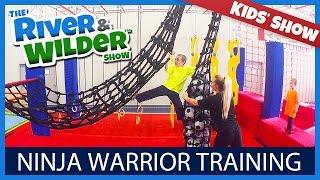 NINJA WARRIOR TRAINING FOR KIDS  | KIDS TV