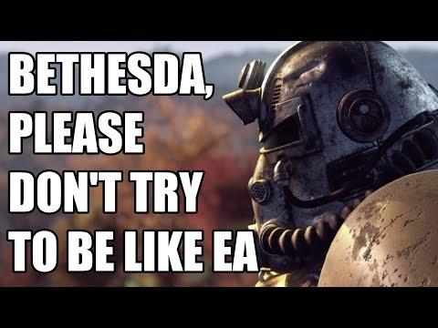Bethesda, Please Don't Be Like EA